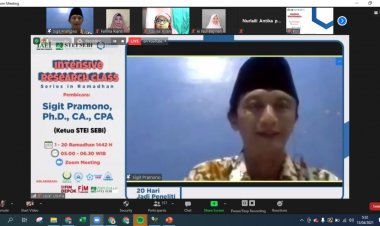 SIBERC STEI SEBI Selenggarakan Intensive Research Class in Ramadhan